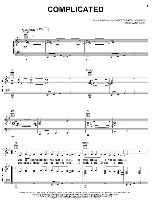 Complicated sheet music