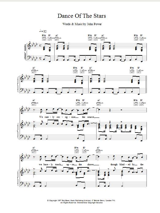 Dance Of The Stars sheet music