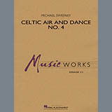 Download Michael Sweeney 'Celtic Air and Dance No. 4 - Eb Baritone Saxophone' printable sheet music notes, Irish chords, tabs PDF and learn this Concert Band song in minutes