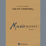 Download Michael Sweeney 'Celtic Farewell - Percussion 1' printable sheet music notes, Irish chords, tabs PDF and learn this Concert Band song in minutes