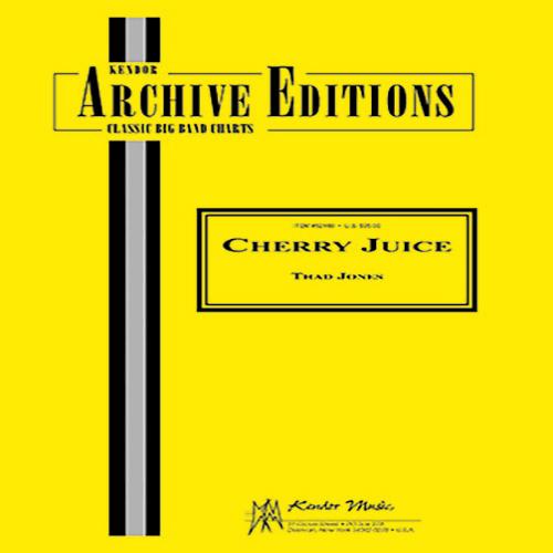 Thad Jones, Cherry Juice - 2nd Bb Tenor Saxophone, Jazz Ensemble