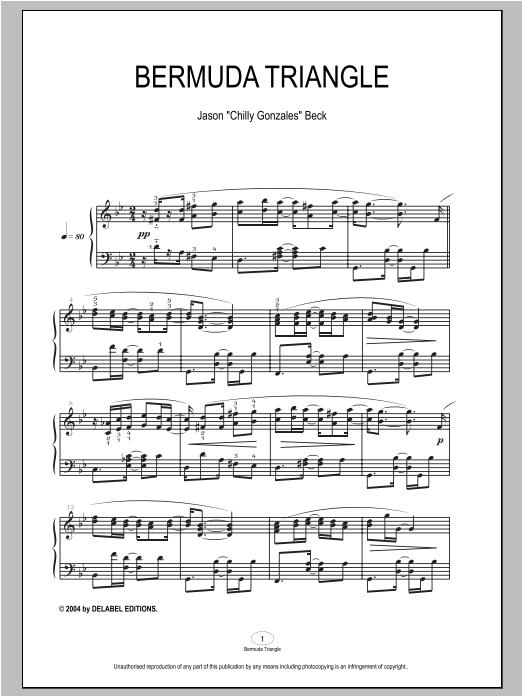 Bermuda Triangle sheet music