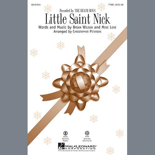 Christopher Peterson, Little Saint Nick - Bass, Choir Instrumental Pak