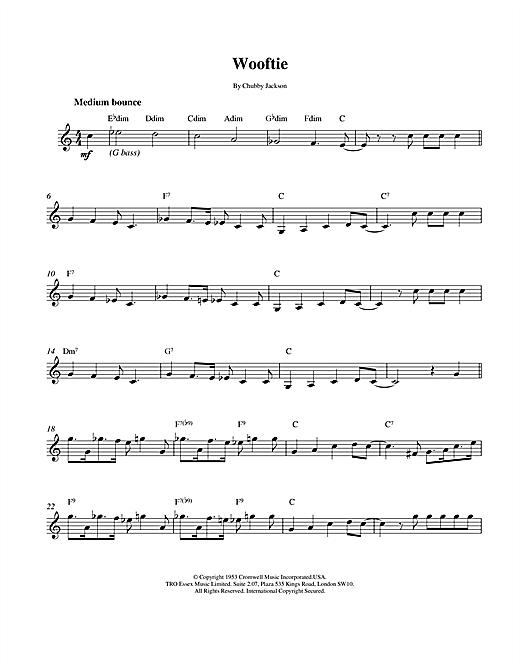 Wooftie sheet music