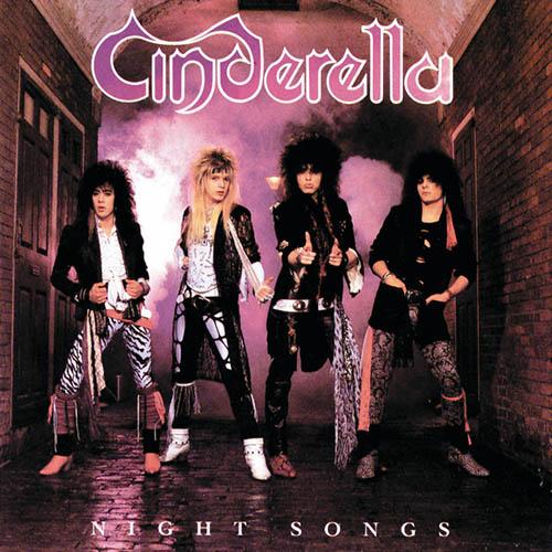 Cinderella, Shake Me, Guitar Tab