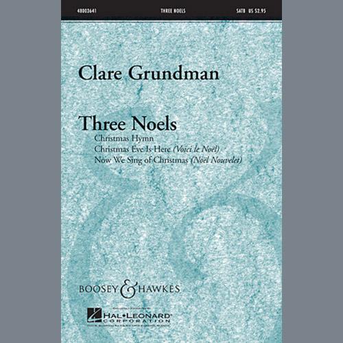 Clare Grundman, Three Noels, SSA