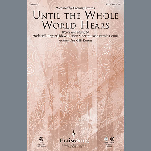 Until The Whole World Hears - Trumpet 1 sheet music