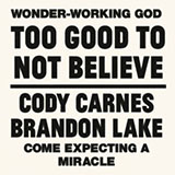 Download Cody Carnes Too Good To Not Believe (feat. Brandon Lake) sheet music and printable PDF music notes