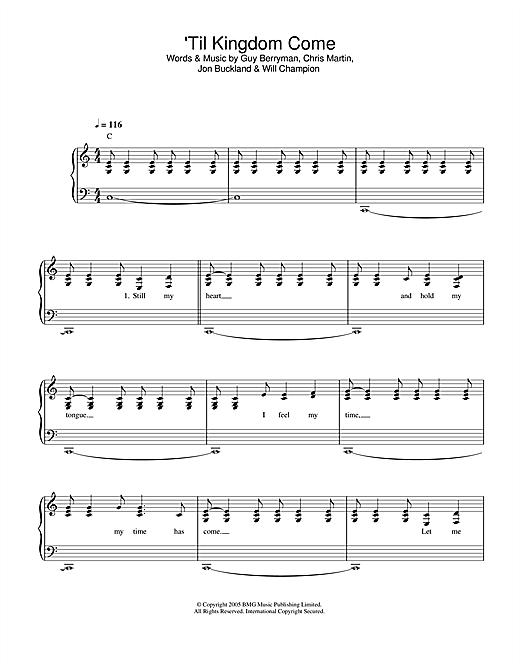 'Til Kingdom Come sheet music