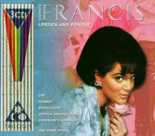 Connie Francis, Lipstick On Your Collar, Piano, Vocal & Guitar (Right-Hand Melody)