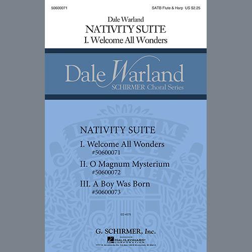 Dale Warland, Nativity Suite - Harp, Choir Instrumental Pak