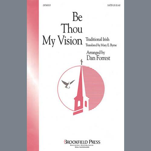 Dan Forrest, Be Thou My Vision - Harp, Choir Instrumental Pak