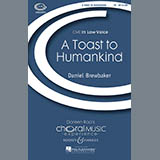 Download Daniel Brewbaker 'A Toast To Humankind' printable sheet music notes, Festival chords, tabs PDF and learn this TB song in minutes