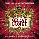 Download Dave Malloy Dust And Ashes [Solo version] (from Natasha, Pierre & The Great Comet of 1812) sheet music and printable PDF music notes