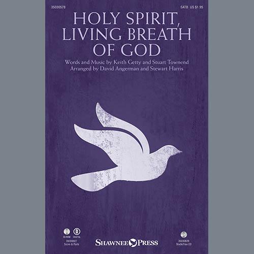 David Angerman, Holy Spirit, Living Breath of God - Clarinet (sub Viola), Choir Instrumental Pak