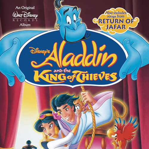 Out Of Thin Air (from Aladdin and the King of Thieves) sheet music