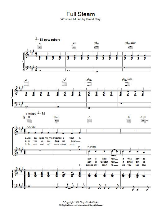 Full Steam sheet music