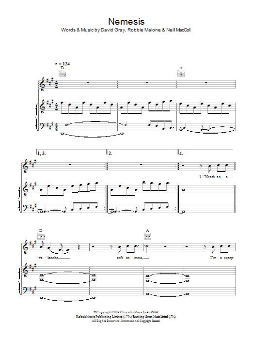 Nemesis sheet music