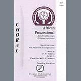 Download David Montoya African Processional (ed. Ron Kean) sheet music and printable PDF music notes