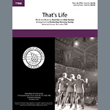 Download Dean Kay & Kelly Gordon That's Life (arr. Barbershop Harmony Society) sheet music and printable PDF music notes