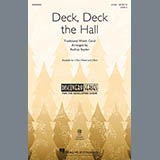 Download Traditional Welsh Carol 'Deck, Deck The Hall (arr. Audrey Snyder)' printable sheet music notes, Christmas chords, tabs PDF and learn this 3-Part Mixed Choir song in minutes