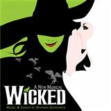 Download Stephen Schwartz 'Defying Gravity (from Wicked)' printable sheet music notes, Musical/Show chords, tabs PDF and learn this Piano Chords/Lyrics song in minutes