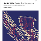 Download Denis DiBlasio Art Of Life Etudes For Saxophone (25 Etudes Derived From A Single Device Or Scale Source) sheet music and printable PDF music notes