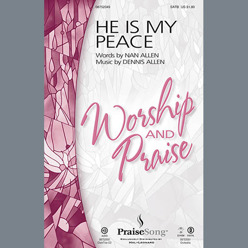 He Is My Peace - Harp sheet music