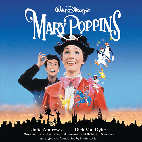 Dick Van Dyke, Chim Chim Cher-ee (from Mary Poppins), Piano, Vocal & Guitar