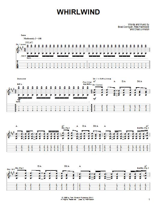 Whirlwind sheet music