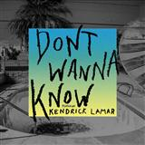 Download Maroon 5 feat. Kendrick Lamar 'Don't Wanna Know' printable sheet music notes, Rock chords, tabs PDF and learn this Easy Piano song in minutes