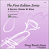 Download Doug Beach A Darker Shade Of Blue - 2nd Bb Trumpet sheet music and printable PDF music notes