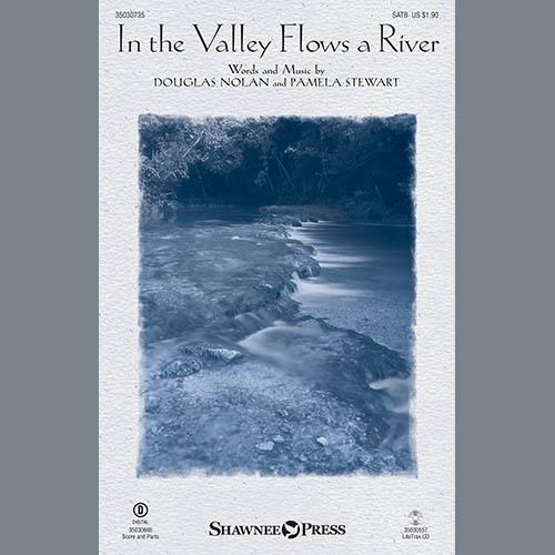 Douglas Nolan, In the Valley Flows a River - Cello, Choir Instrumental Pak