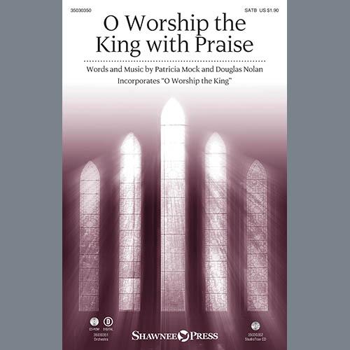 Douglas Nolan, O Worship the King with Praise - Violin 2, Choir Instrumental Pak