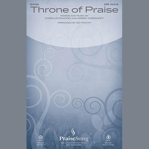 Ed Hogan, Throne of Praise - Violin 2, Choir Instrumental Pak