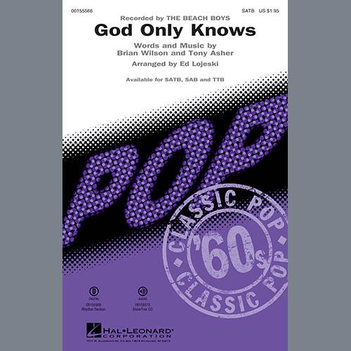 Ed Lojeski, God Only Knows - Guitar, Choir Instrumental Pak