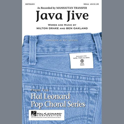 Java Jive (SSAA Octavo Accompaniment Parts) - Bass sheet music