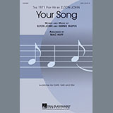 Download Elton John Your Song (arr. Mac Huff) sheet music and printable PDF music notes