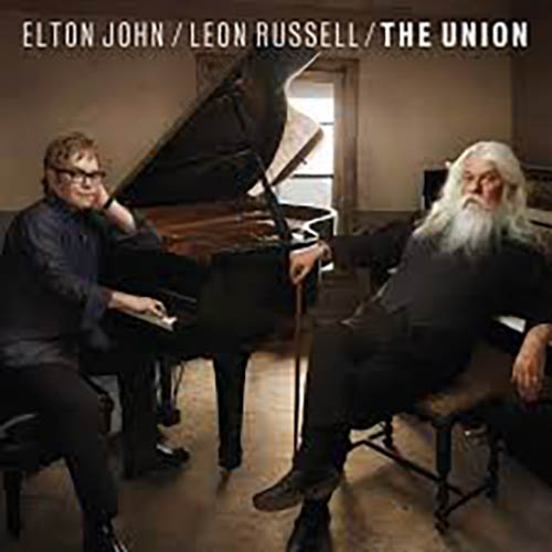 Elton John & Leon Russell, Jimmie Rodgers' Dream, Piano, Vocal & Guitar (Right-Hand Melody)