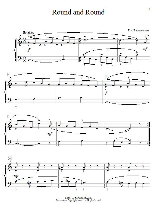 Round And Round sheet music