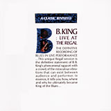 Download B.B. King 'Every Day I Have The Blues' printable sheet music notes, Blues chords, tabs PDF and learn this Piano Transcription song in minutes
