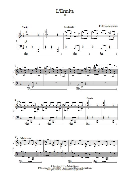 LErmita sheet music