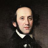 Download Felix Mendelssohn Capriccio In A Major sheet music and printable PDF music notes