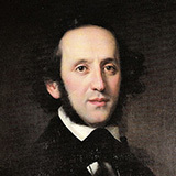 Download Felix Mendelssohn O For The Wings Of A Dove sheet music and printable PDF music notes