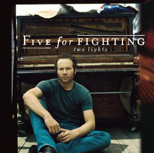 Five For Fighting, Two Lights, Piano, Vocal & Guitar (Right-Hand Melody)