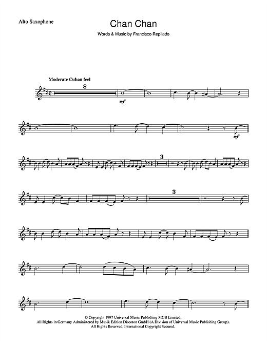Chan Chan sheet music