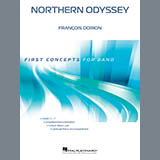 Download Francois Dorion Northern Odyssey - Percussion 1 sheet music and printable PDF music notes