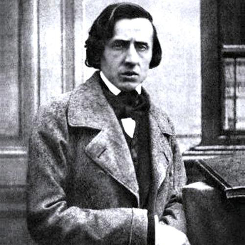 Frederic Chopin, Minute Waltz in D flat major Op. 64 No. 1, Melody Line & Chords