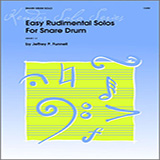 Download Funnell 'Easy Rudimental Solos For Snare Drum' printable sheet music notes, Classical chords, tabs PDF and learn this Percussion Solo song in minutes