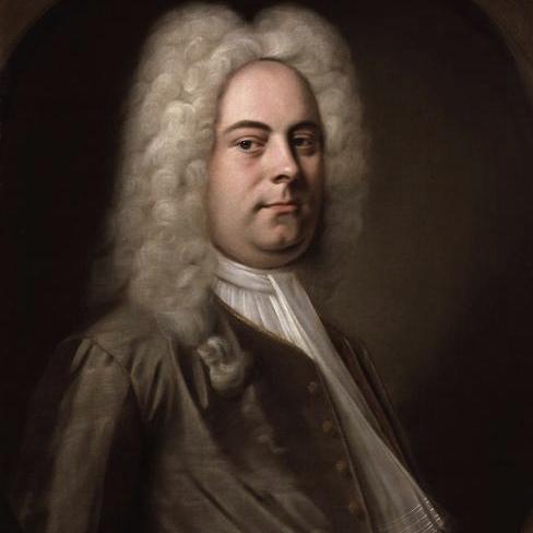 George Frideric Handel, The Harmonious Blacksmith, Melody Line & Chords